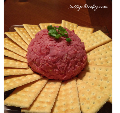 """Philly"" Cheese Ball"