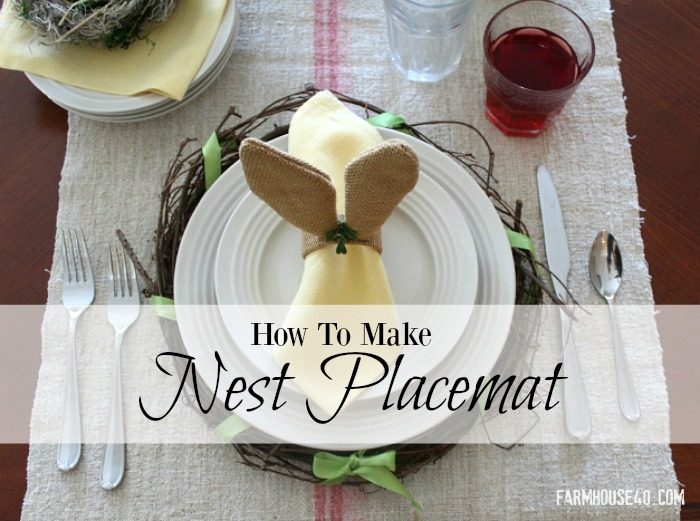 how to make an Nest Placemat