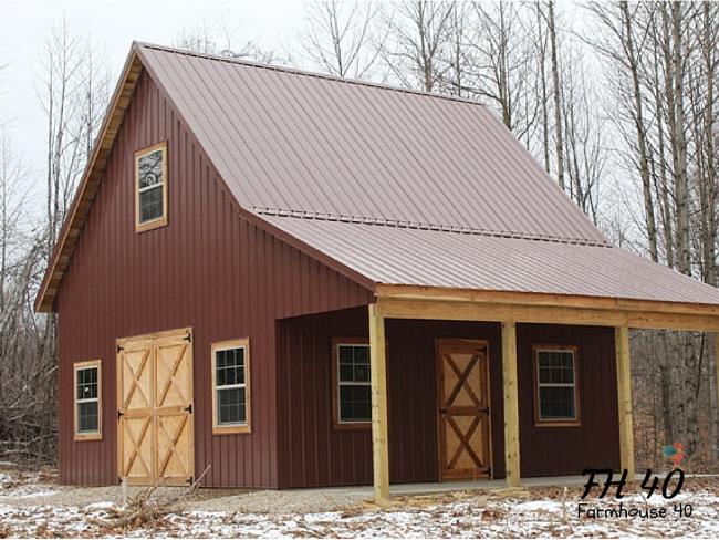 Building-a-barn