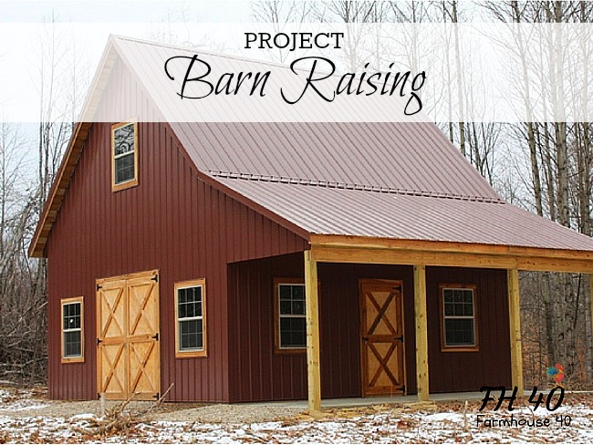 Building of a Barn