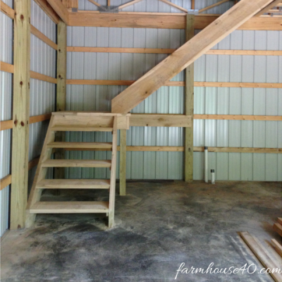 Day 59 – Barn Completed