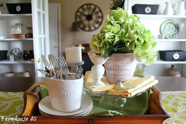 Spring Vignette DIY Blog Home Decor