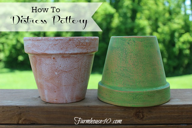 Distressed Pots Banner