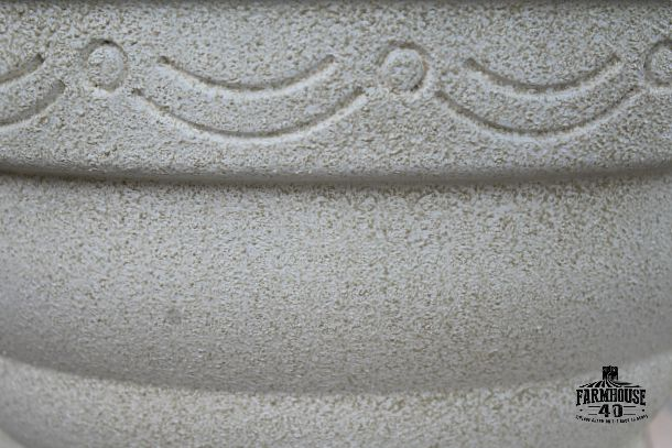 Stone Pots Plastic Or Terracotta Pots Transformed