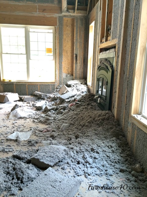 insulation-falling-out-of-walls