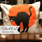 DIY BLACK CAT PILLOW – CREATE AND SHARE