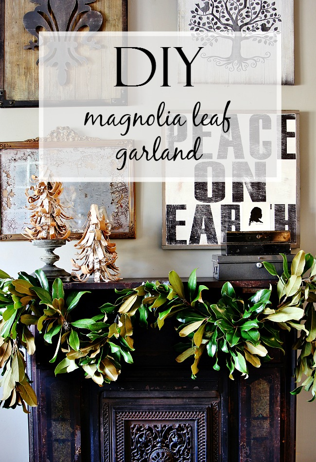 diy-magnolia-leaf-garland-project