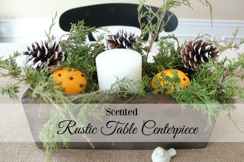 orange clove candle centerpiece banner 3565