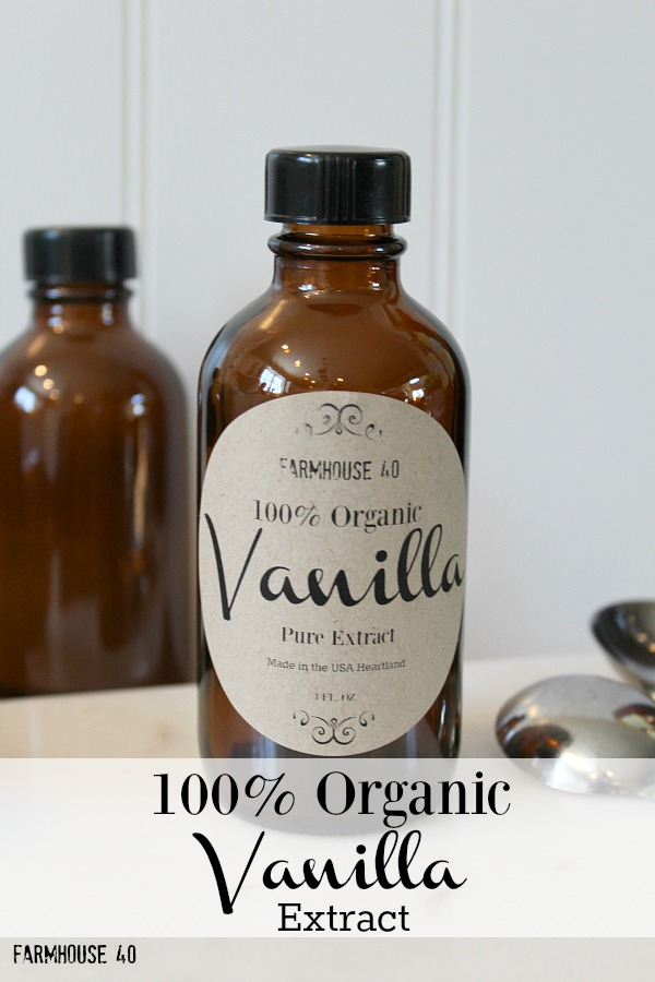 organic vanilla extract recipe