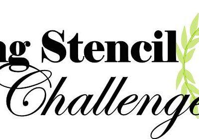SPRING STENCIL CHALLENGE X8