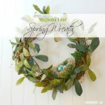 Pottery Barn Inspired Spring Wreath