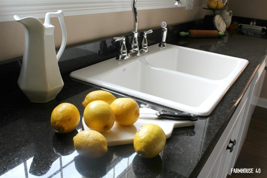 farmhouse kitchen cast iron sink