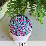 DIY – Yard Garden Beaded Globe