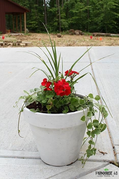 potting soil saver idea