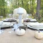 Autumn Tablescape Farmhouse Style