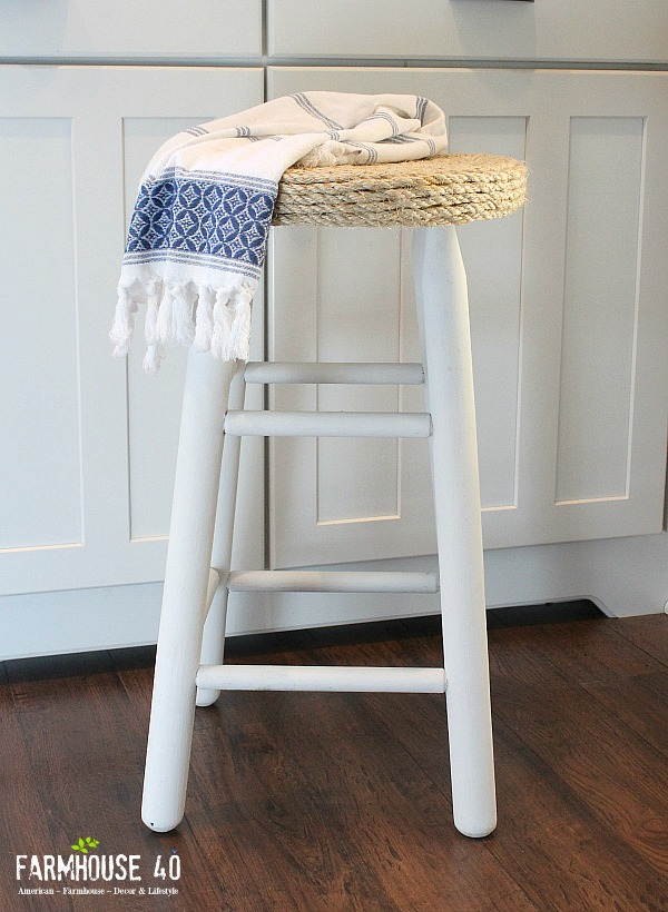 Boho Farmhouse Bar Stools