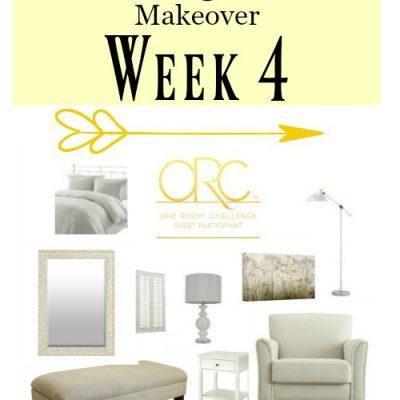Farmhouse Master Bedroom – One Room Challenge (Week 4)