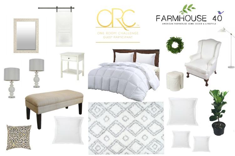 Farmhouse Master Bedroom – One Room Challenge (Week 3)