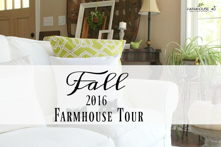 fall farmhouse home tour