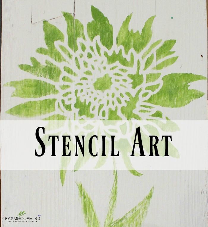 Cutting Edge Stencils Explores Island Adventures: Stencil Art Wood Board
