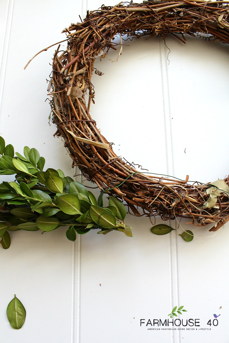 making-boxwood-wreaths