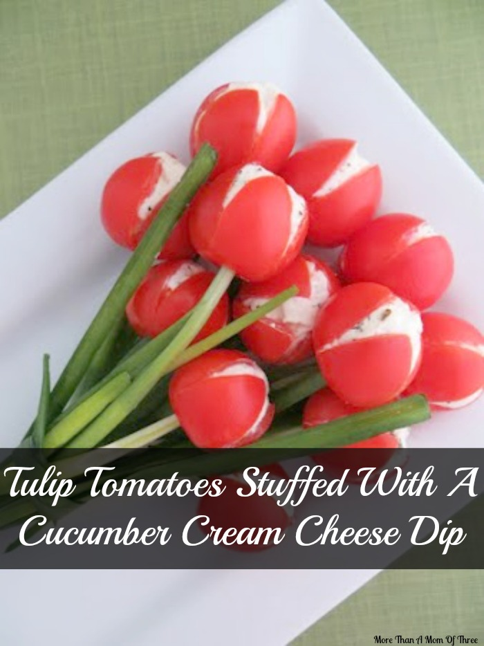 Tulip tomatoes stuffed
