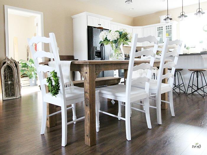 DIY Farmhouse Table Chairs Makeover FARMHOUSE 40