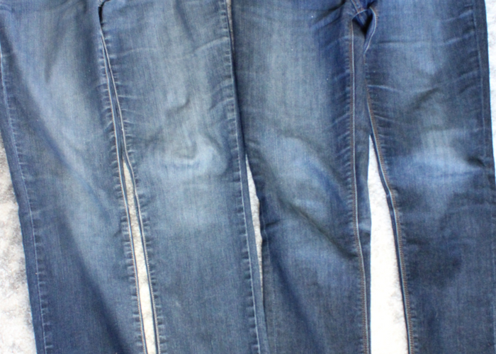 Brilliant Trick: Faded Jeans Look New Again