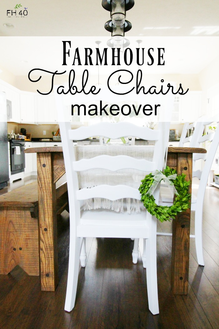 Farmhouse Table Chairs Makeover Part 66