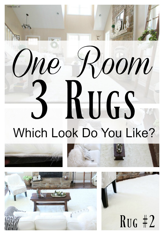 One room 3 rugs review rug 2 which do you like for Two rugs in one room