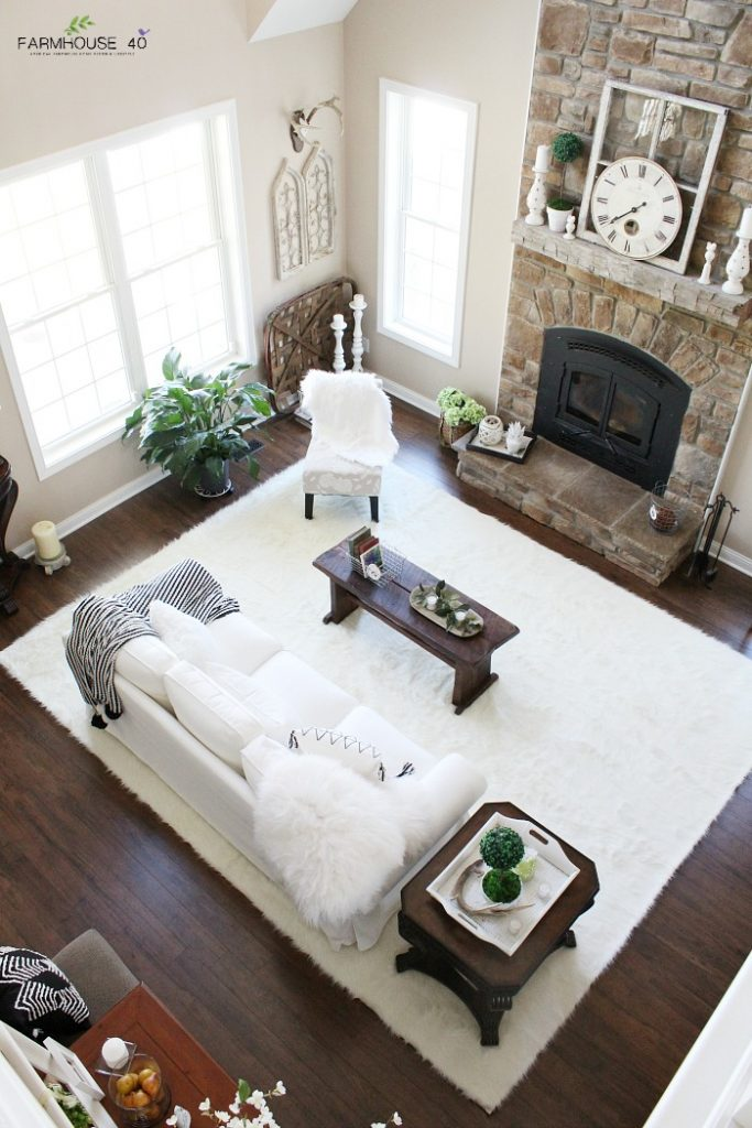 Living Room Rug Reveal Day