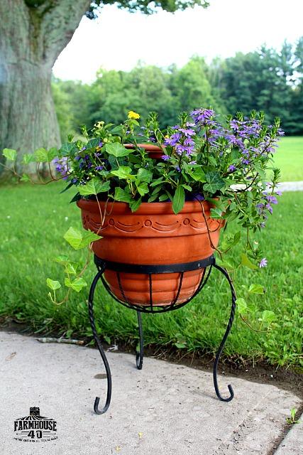 birth bath planter