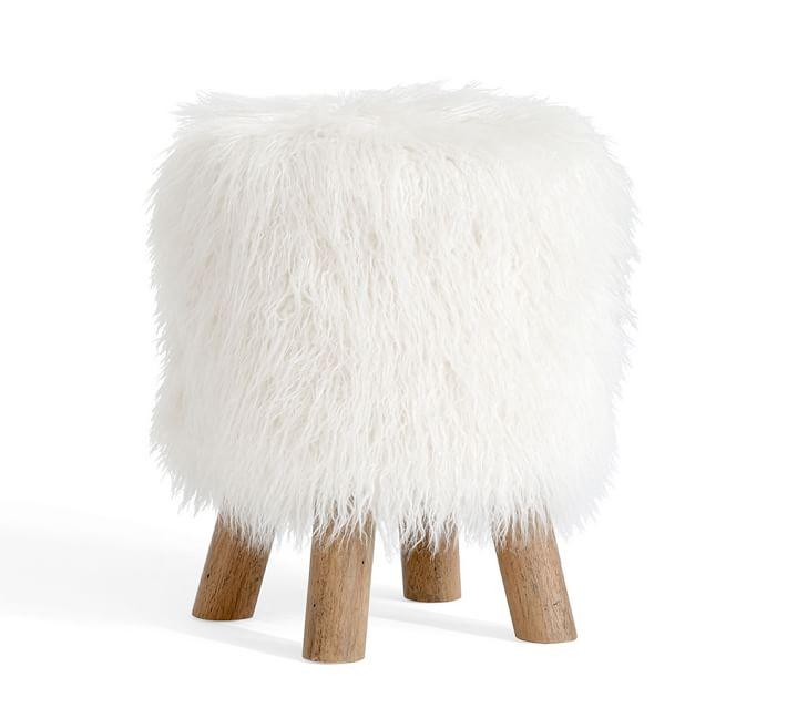 Diy Fur Stool How To Make Your Own Farmhouse 40