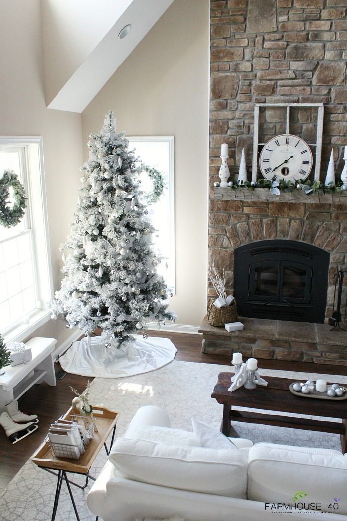 Modern Farmhouse Christmas Tree Farmhouse 40