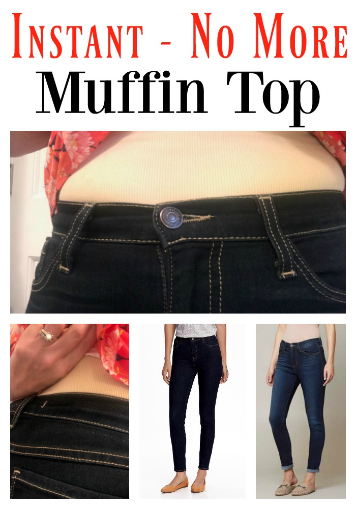 46b3fc4bca2e Forget the low-rise jeans. Really, just ditch them. Instead, opt for a Mid  to High Rise style that sits at or above your belly button.
