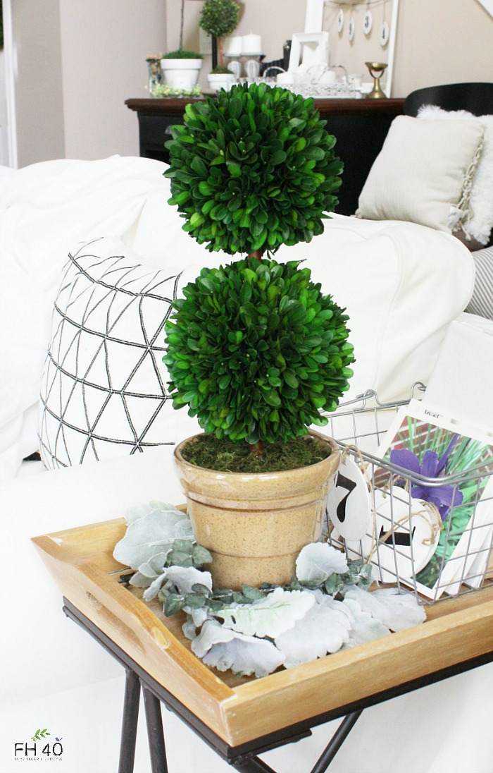 3 Ideas To Add Beauty To Your Decor With Preserved Boxwood Topiary Farmhouse 40