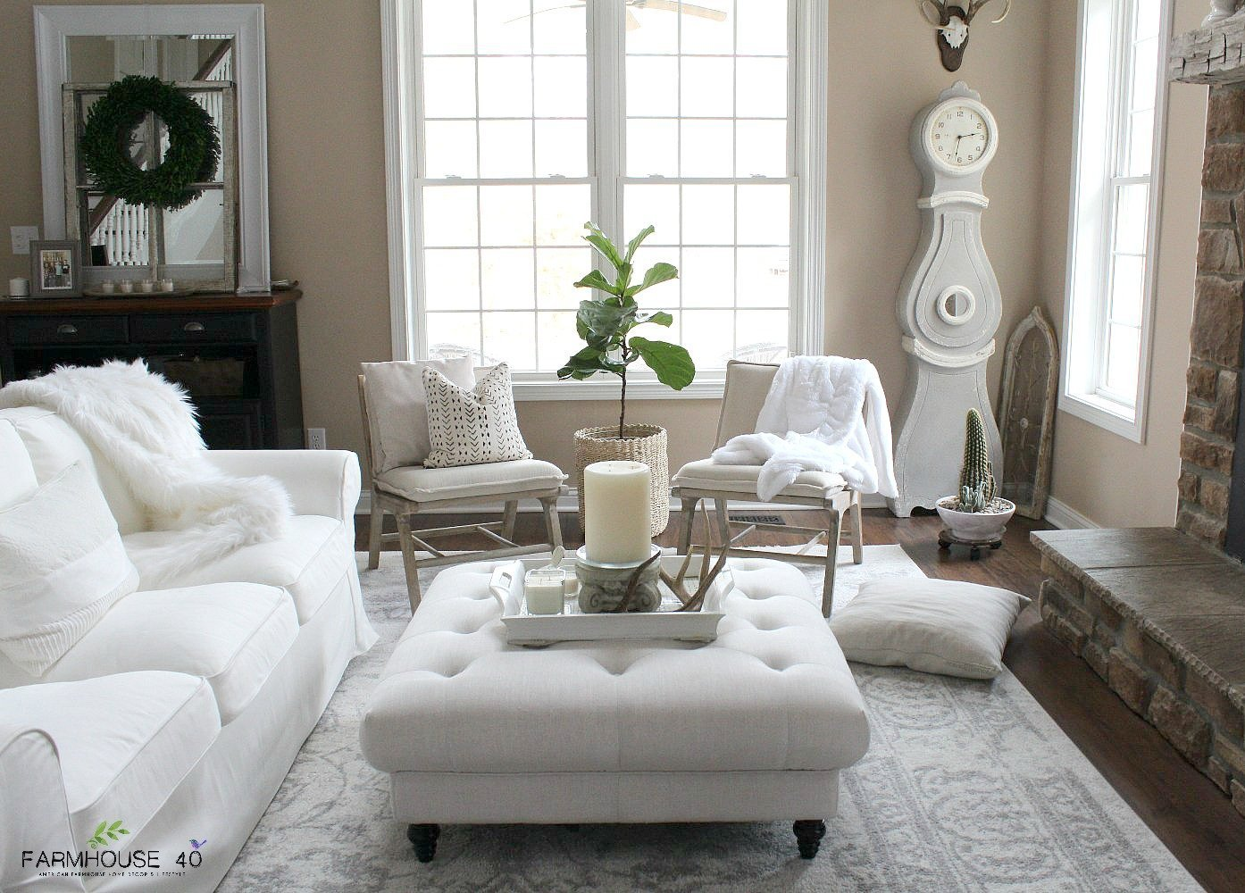 Easy Winter Decor With A Minimalist Twist Farmhouse 40
